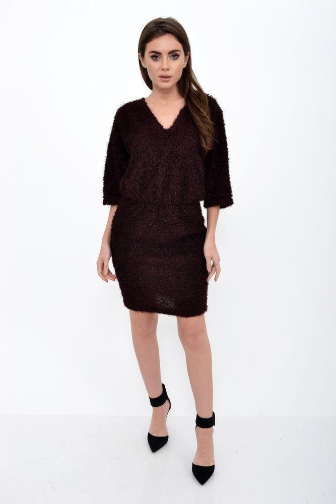 Платье женское 115R160F цвет Бордовый