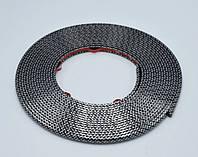 Декоративная ПОД КАРБОН защитная молдинг лента для авто колес,дисков,титанов (защита от сколов,царапин) WHEEL