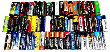 Типы батареек. Основные характеристики батареек