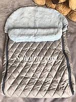 Конверт и одеяло меховое для новорождённых, отзыв от клиента, фото 1