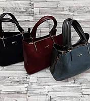 Стильная Женская сумка ZARA из натуральной замши . В расцветках.