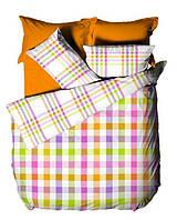 Комплект постельного белья Le vele DUET - FUSHIA простыня на резинке