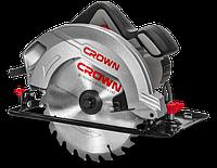 Пила ручная циркулярная CROWN CT15188-190