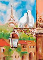 """Картина по номерам """"Весна в Париже"""", 40х50см. (КН2128)"""