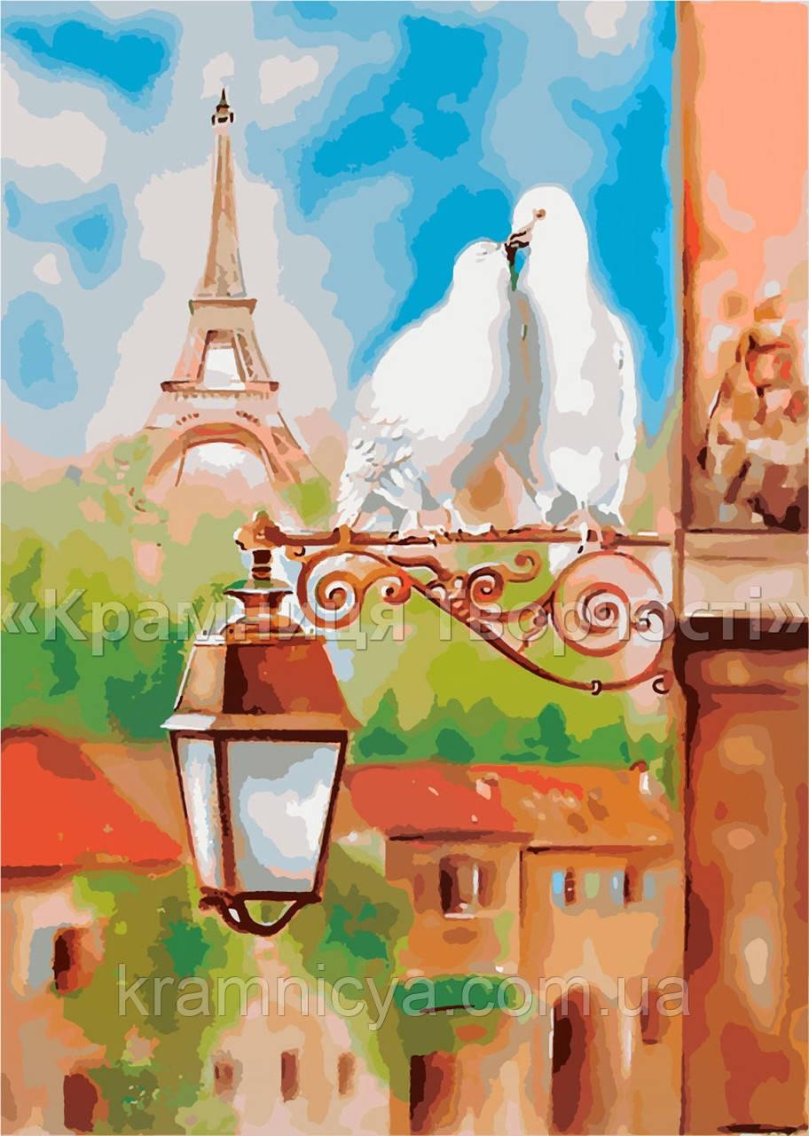 """Картина по номерам """"Весна в Париже"""", 40х50см. (КН2128), фото 1"""