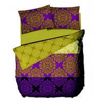 Комплект постельного белья Le vele PRESTO - GREEN простыня на резинке