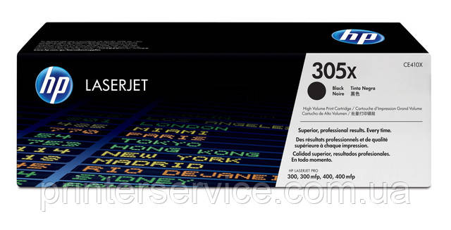 HP CE410X (№305X) Black для hp LaserJet Pro 300 / 400, 300mfp / 400mfp