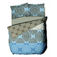 Комплект постельного белья Le vele PRESTO - BEIGE простыня на резинке