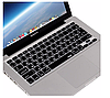 """Apple MacBook Air Pro 13/15/17"""" Накладка Захист силікон клавіша ENTER верт./гориз. розкладка UK чорний"""