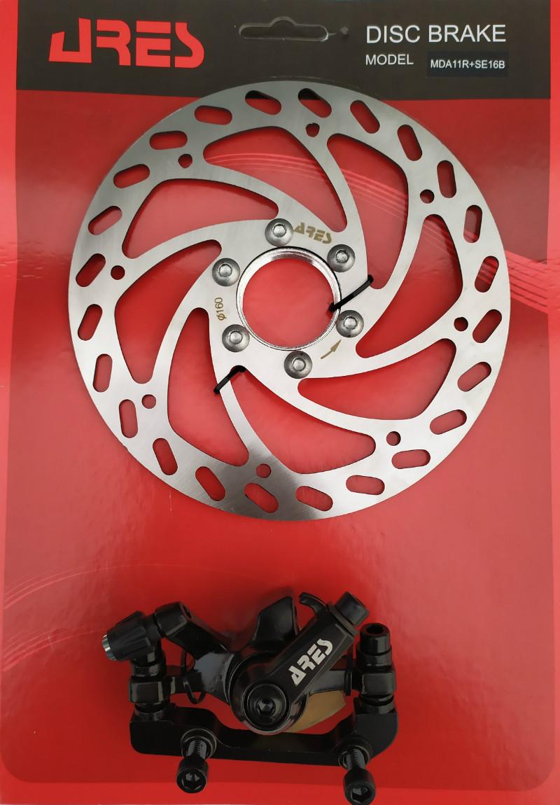 Тормоз дисковый Ares MDA11R+SE16B ротор 160 мм., задний, фланец