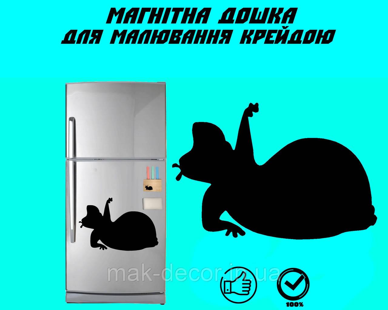 Магнитная доска на холодильник Бегемотик Лора L  (20х30см)