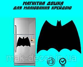"""Магнітна дошка на холодильник """"Бетмен"""" XL (31х40см)"""