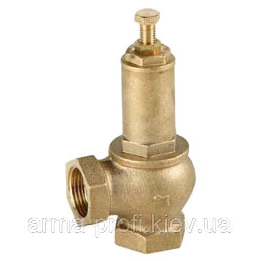 Клапан запобіжний регульований Genebre 3190 Ду 20