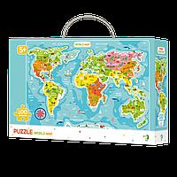 Пазл DoDo Карта мира (англ.), 5+.