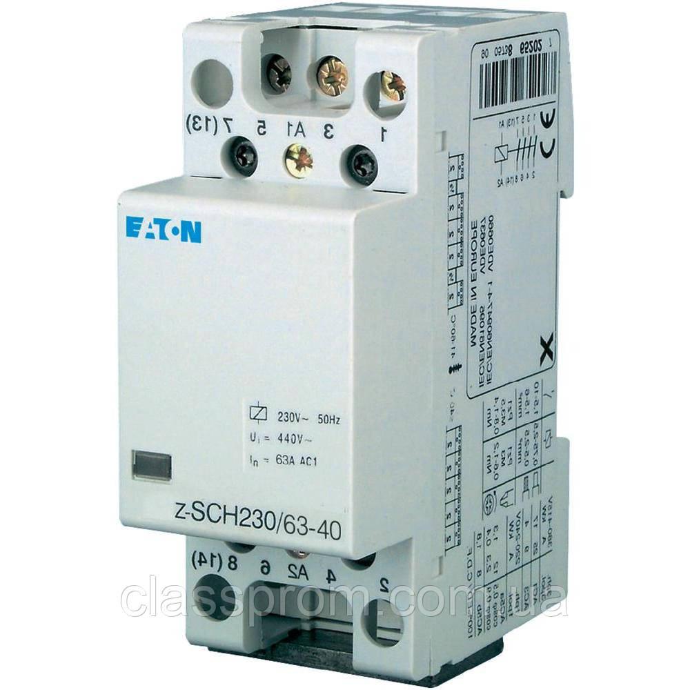 Контактор для проводок Z-SCH230/63-40 EATON
