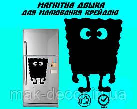 Магнитная доска на холодильник Губка Боб L  (22х30см)
