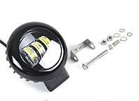 Дополнительная светодиодная LED фара Xuantu 30Вт круглая