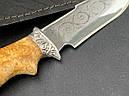 """Нож охотничий """"Орел"""" ручная работа, (сталь 40Х13, ножны кожа), фото 3"""