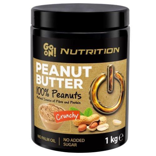 Арахісова паста Go On Nutrition Peanut butter crunchy 100% 1000 g