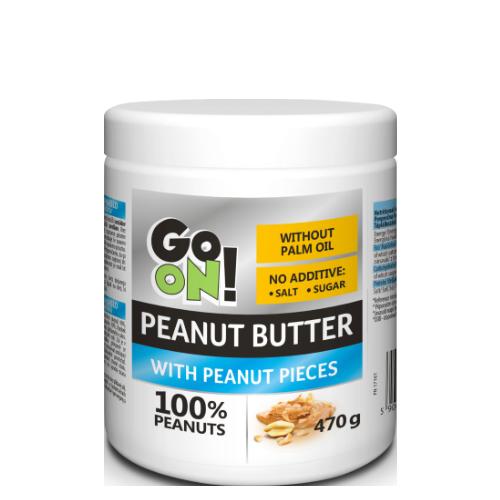 Арахісова паста Go On Nutrition Peanut butter crunchy 470 g