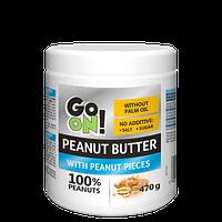 Арахисовая паста Go On Nutrition Peanut butter crunchy 470 g