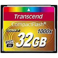 Карта памяти Transcend 32Gb Compact Flash 1000x (TS32GCF1000)
