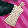 Кулон ладанка Архангел Михаил с молитвой серебро с позолотой - Серебряная иконка Архангел Михаил, фото 2