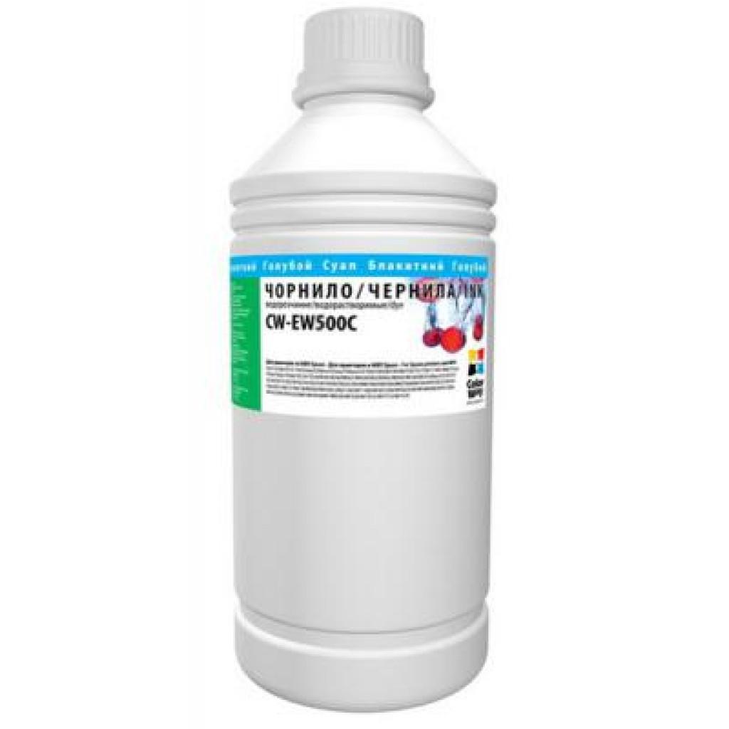Чернила ColorWay Epson Sublimation 1л Cyan (CW-ES500C1)