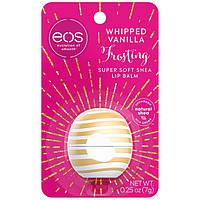 Бальзам для губ от Eos whipped vanilla frosting (взбитые сливки с миксом из ванильных бобов) USA, фото 1