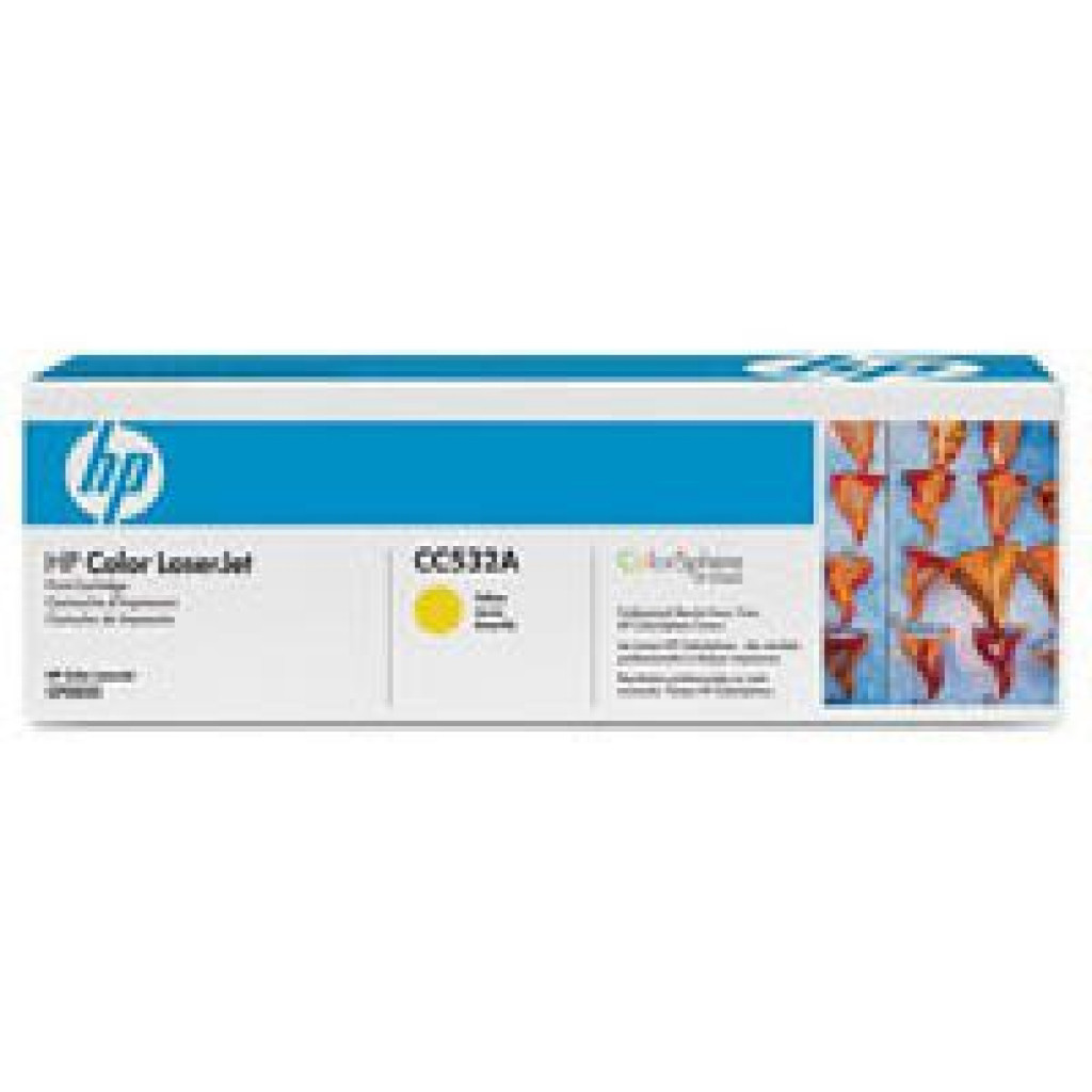 Картридж HP CLJ  304A yellow, CP2025/ CM2320 series (CC532A)