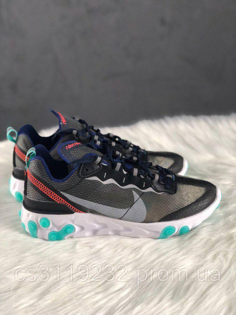 Жіночі кросівки Nike React Element 87 Neptune Bright Green Mango (мультиколор)