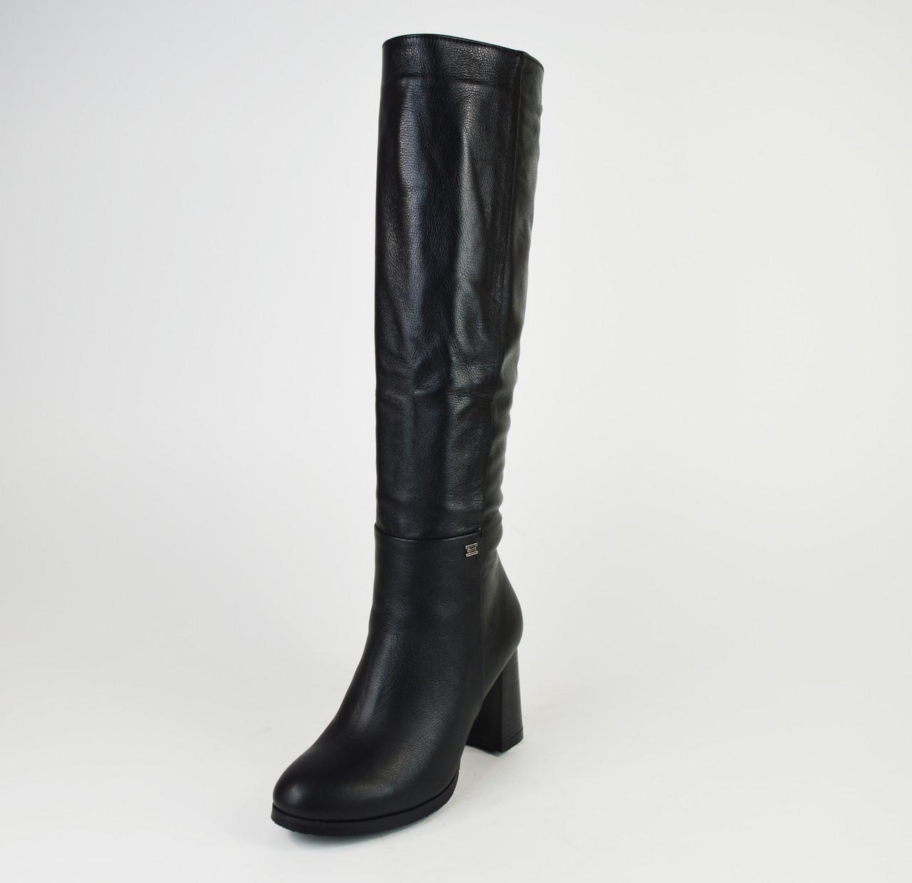 Сапоги женские кожаные Kluchini