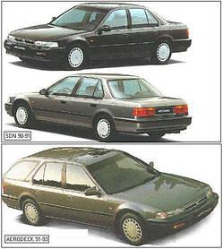 Кузовные запчасти для Honda Accord 4 1990-93