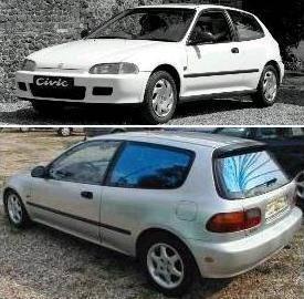 Кузовные запчасти для Honda Civic 1992-95 HB