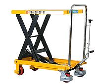 Cтол гидравлический мобильный LPT500T, г/п 500 кг, высота подъема 900 мм, платформа 800х500х50 мм