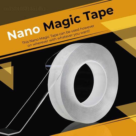 Клейкая лента-липучка Magic Tape ,Nano скотч 2 метра