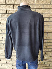 Кофта, толстовка мужская утепленная флисовая на молнии высокого качества брендовая реплика TOMMY HILFIGER, фото 2