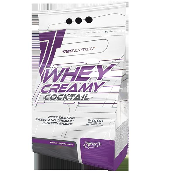 Сывороточный молочный и казеиновый протеин Whey Cremy Cockteil 750 г