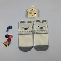 Носки Caramella - низкие - с ушками - серые, фото 1