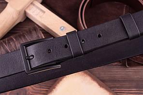 Ремень ручной работы из натуральной кожи VOILE blt1-blk-bm, фото 2