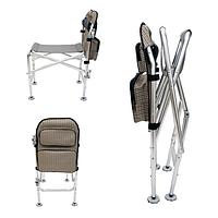 Фидерное кресло алюминиевое профессиональное IQ-14 Condor, с чехлом