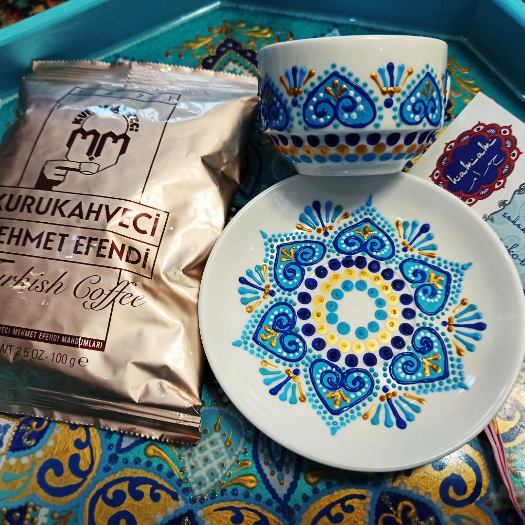 """Кавовий набір + кава"""" турецька кава"""""""