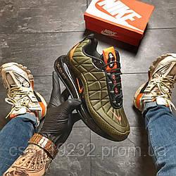 Мужские демисезонные кроссовки Nike Air Max  720-98 Green Black (термо)(зелёный)