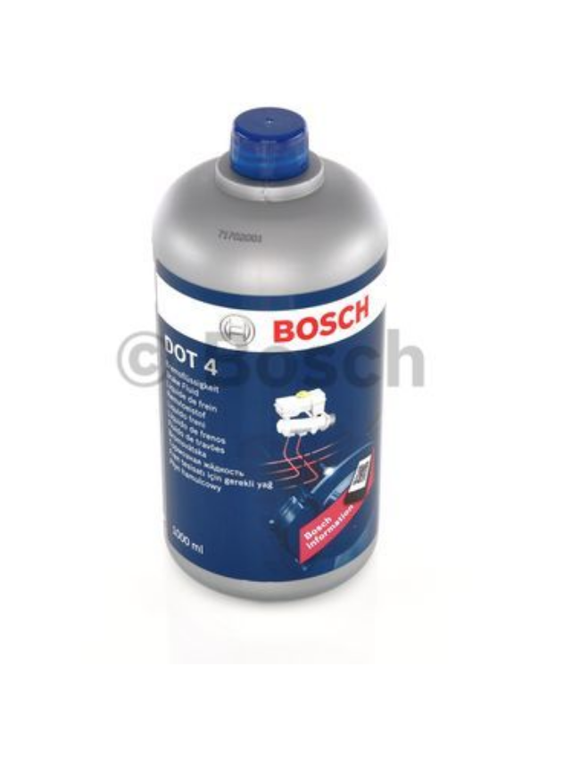 Тормозная жидкость DOT-4 BOSCH 1л.