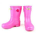 Розовые сапоги на дождь из пены ЭВА, р.28/29, стелька 18 см. Резиновые сапоги., фото 10
