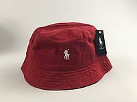 Панама Polo Ralph Lauren - бордовая, фото 1