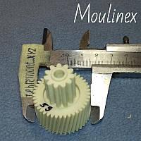 Шестерня для мясорубки Moulinex (Z=41; z=11; D=34; d=17; H=17) (Украина)