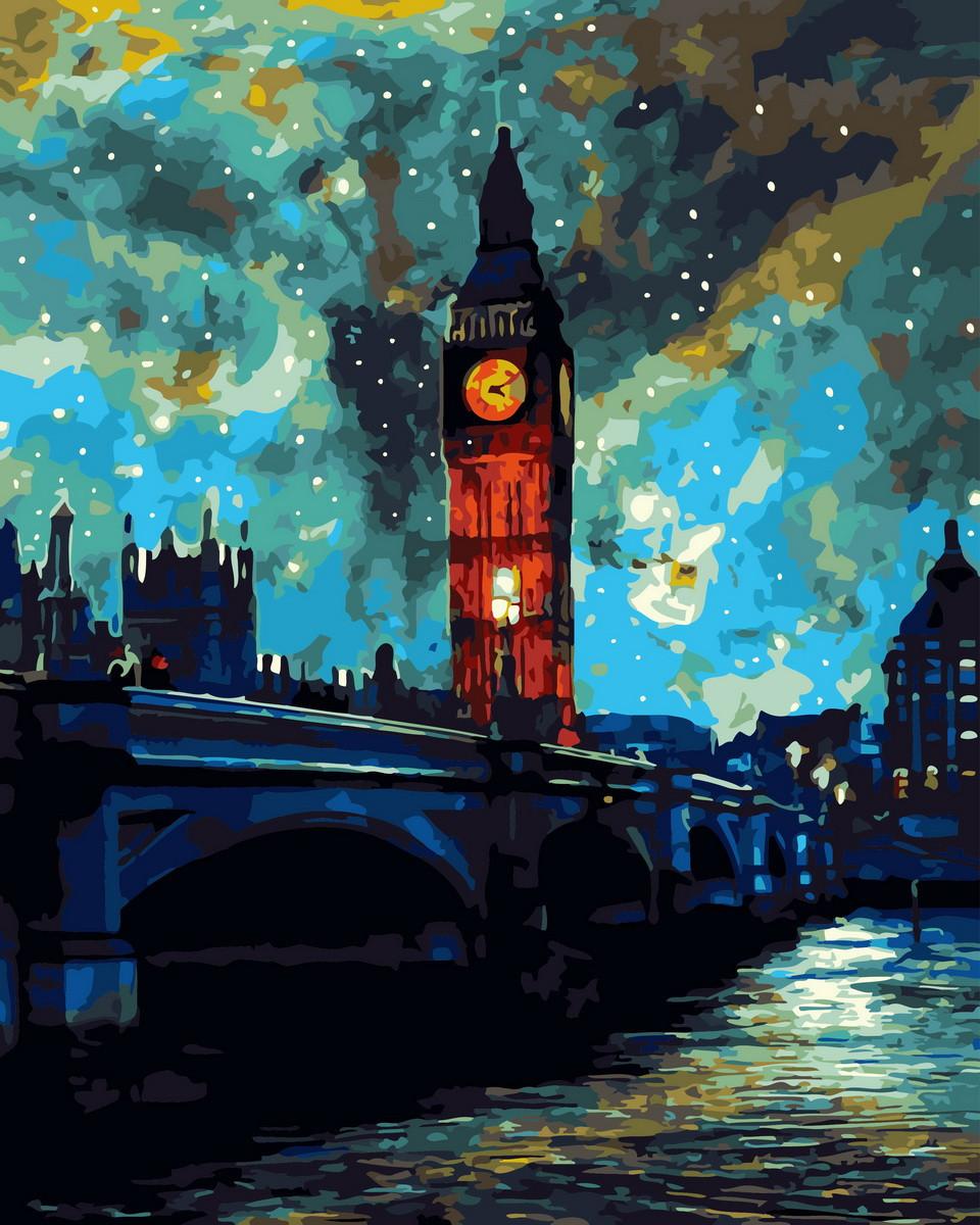 Картина по номерам Сияние Лондона 32891 40*50