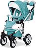 Детская универсальная коляска 3 в 1 Riko Brano Ecco 15 Malachit, фото 4