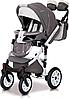 Детская универсальная коляска 3 в 1 Riko Brano Ecco 17 Stone, фото 4